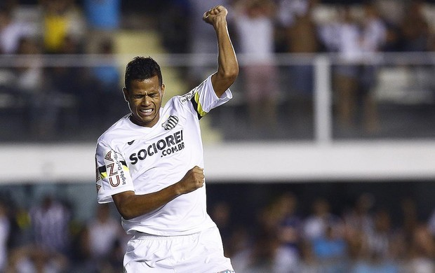 Geuvânio Santos Bragantino (Foto: Ricardo Saibun / Divulgação SantosFC)