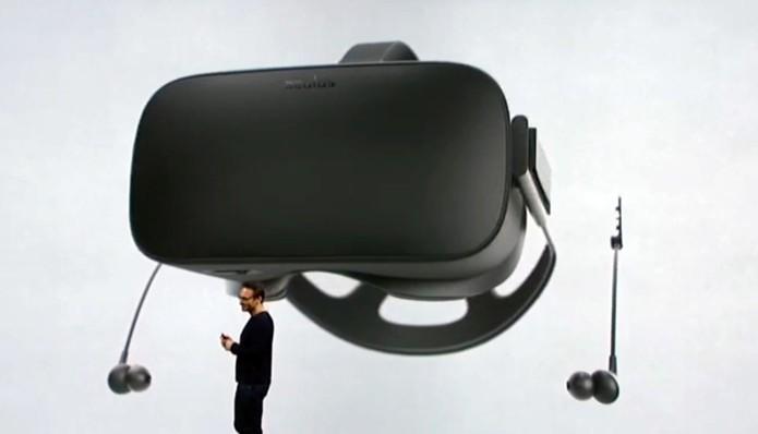 Novo earphone do Oculus Rift promete competir com modelos de alta qualidade (Foto: Reprodução/Oculus)