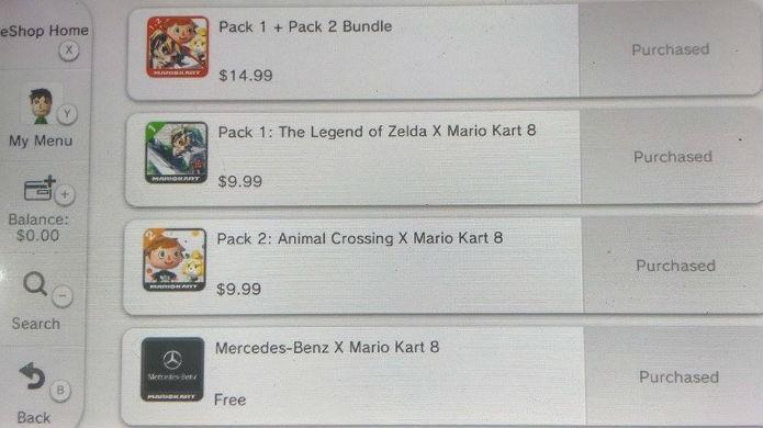 Escolha seu pack favorito de Mario Kart 8 (Foto: Reprodução/Thomas Schulze)