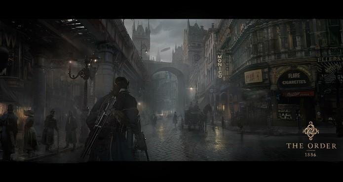 The Order: 1886 é novo jogo para PS4 (Foto: Divulgação/Sony)