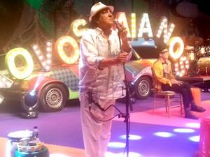 Paulinho Boca de Cantor diz que o show não é um exercício de nostalgia (Foto: Gabriel Gonçalves/G1 Bahia)