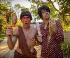 Marcelo Adnet e MArcius Melhem: índio e paraguaio | Alex Carvalho/ TV Globo
