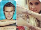Max Porto comenta tatuagem de Bárbara Evans: 'Coisa muito séria'
