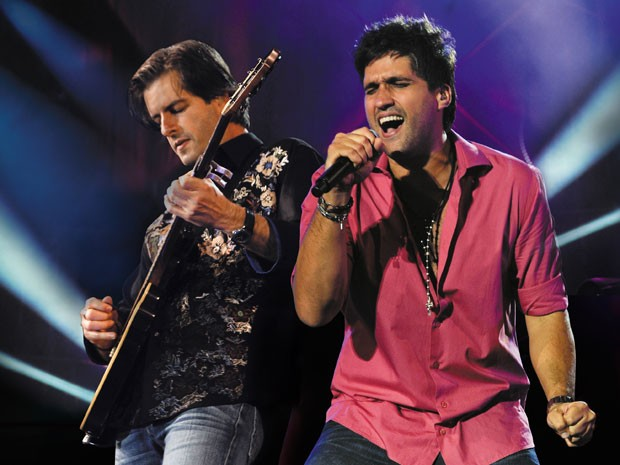 Victor & Leo gravaram DVD/CD 'Ao Vivo em Floripa' para 100 mil pessoas (Foto: Divulgação)