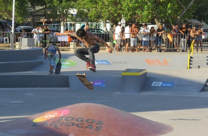 Yan Jy Wun em ação nos Jogos Cariocas de Verão (Foto: Eu atleta)