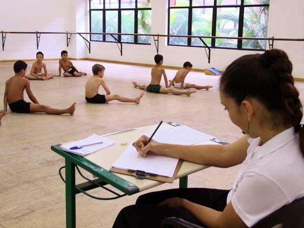 Audição da Escola Bolshoi (Foto: Valéria Macalossi)
