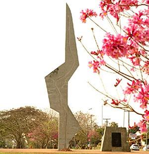Coluna Prestes, em Santo Ângelo (Foto: Divulgação/Prefeitura de Santo Ângelo)