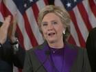 'Nossa nação está mais dividida do que pensávamos', diz Hillary