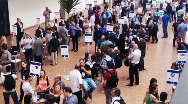 O objetivo do encontro foi conectar os diversos integrantes do ecossistema paulista de inovação para estimular empreendimentos de base tecnológica  (Foto: Claudia Izique/Agência FAPESP)