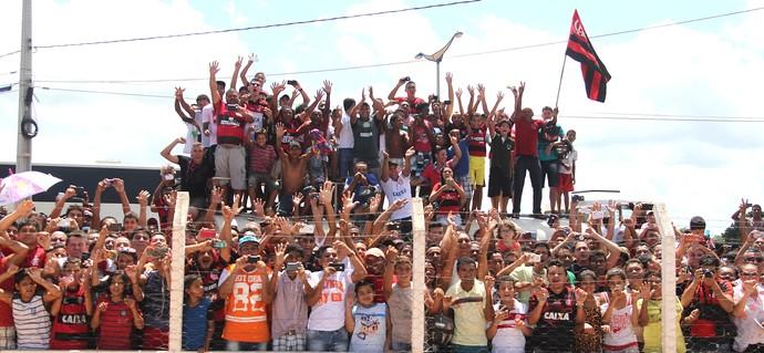 Torcida Flamengo Juazeiro (Foto: Gilvan de Souza / Flamengo)