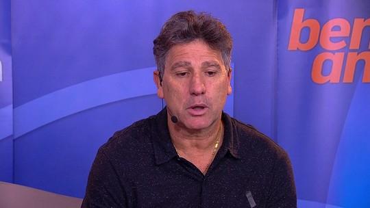 Renato elogia atuação do Grêmio e destaca importância do empate em SP