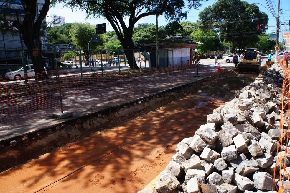 Com interdição do trecho, tráfego ficou liberado apenas para transportes públicos. (Foto: Divulgação / Caern)