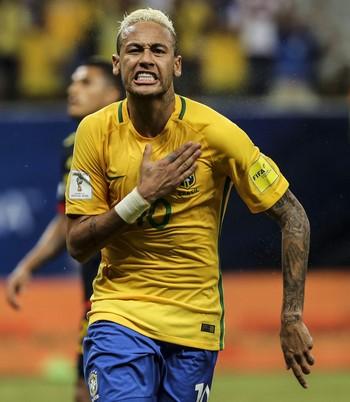 Neymar Brasil x Colombia (Foto: EFE)