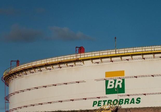 Tanque de petróleo da Petrobras (Foto: Adriano Machado/Reuters)