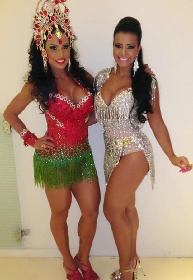 Cinthia Santos e Gracyanne Barbosa (Foto: Renato Cipriano/Divulgação)