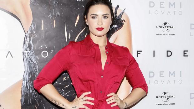Confira fotos de Demi Lovato na coletiva de imprensa em So Paulo  (Foto: Felipe Costa)
