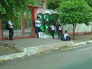 Aulas da rede estadual são retomadas nesta segunda em Santarém (Foto: Reprodução/TV Tapajós)