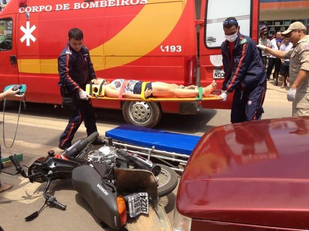 Número de acidentes registrados em 2012 é 16% maior que em 2011 (Foto: Eliete Marques/G1)