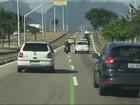 Motoristas já foram multados por trafegar em faixas olímpicas no Rio