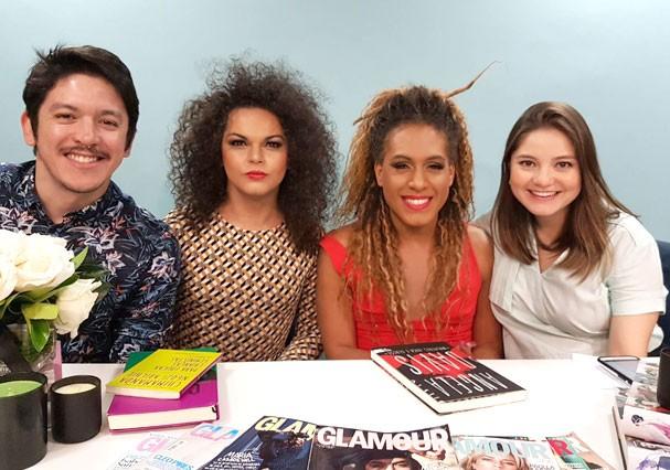 """As Bahias e a Cozinha Mineira no """"Glamour Ao Vivo"""" (Foto: Stefani Souza/Glamour)"""