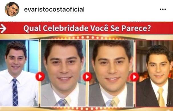 Evaristo Costa (Foto: Reprodução Instagram)