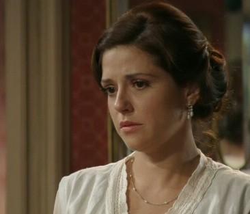 Sandra contará para Laura que é mãe de Ângelo (Foto: Reprodução)