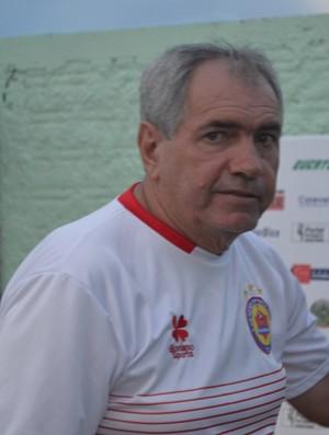 Birigui, técnico do Vilhena (Foto: Jonatas Boni)