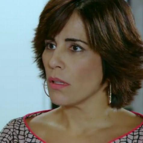 Glória Pires em cena como Roberta (Foto: Reprodução)