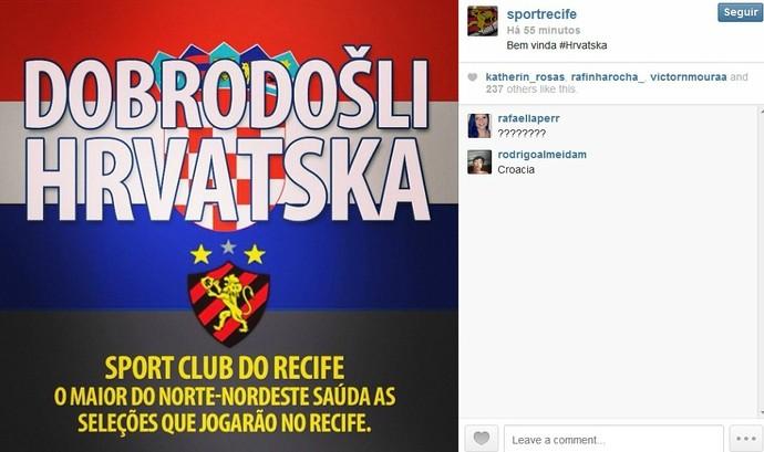 Croácia - Sport (Foto: Reprodução/Internet)