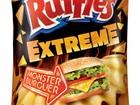 Ruffles lança batata com sabor de pão, queijo, alface e hambúrguer