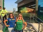 Susana Vieira e outros famosos vão de metrô para a abertura da Olimpíada
