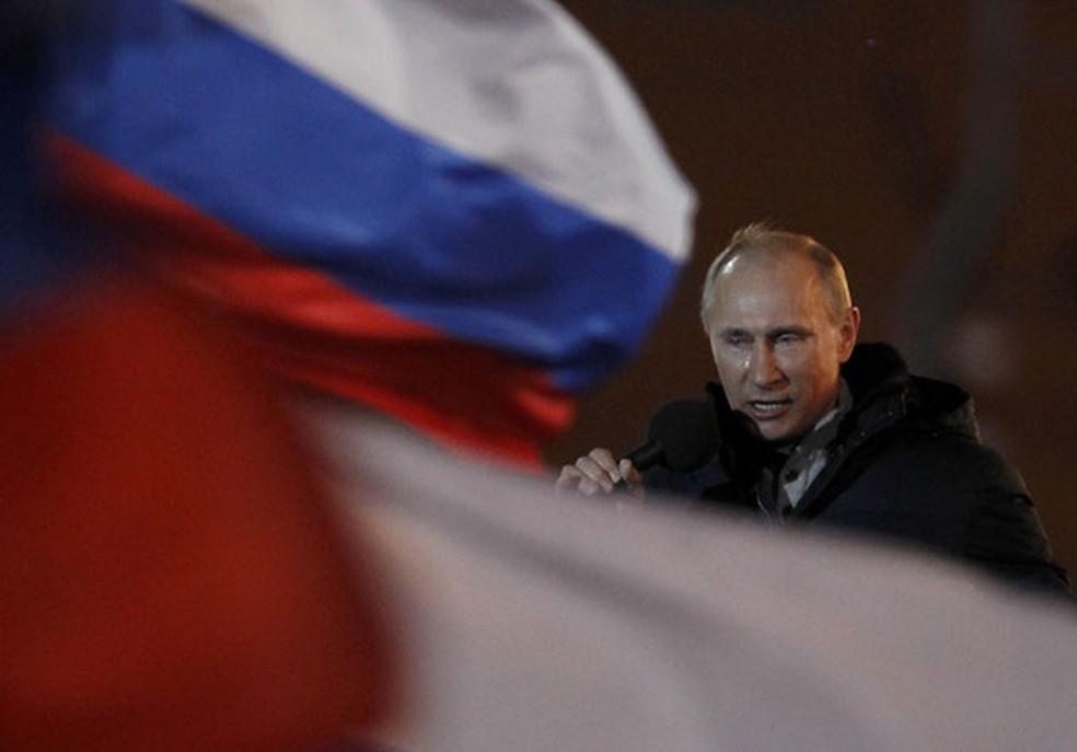 Vladimir Putin, o presidente russo (Foto: Denis Sinyakov/Reuters)