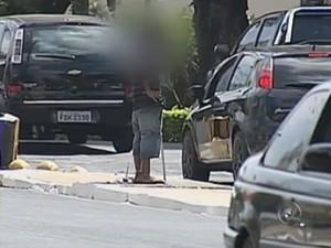 Tem motorista que se sente intimado em alguns locais (Foto: Reprodução TV TEM)