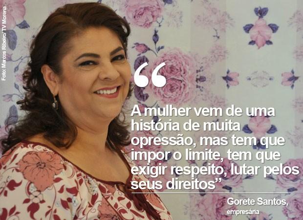 Gorete Santos (Foto: Marcos Ribeiro/ TV Morena)