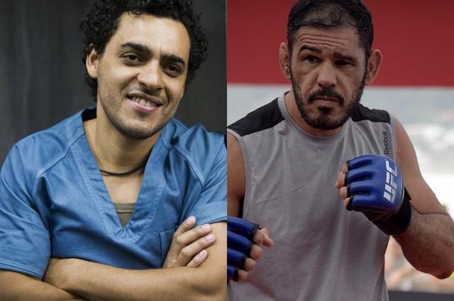 Rui Ricardo Diaz e Rogério Minotouro (Foto: TV Globo/Divulgação)