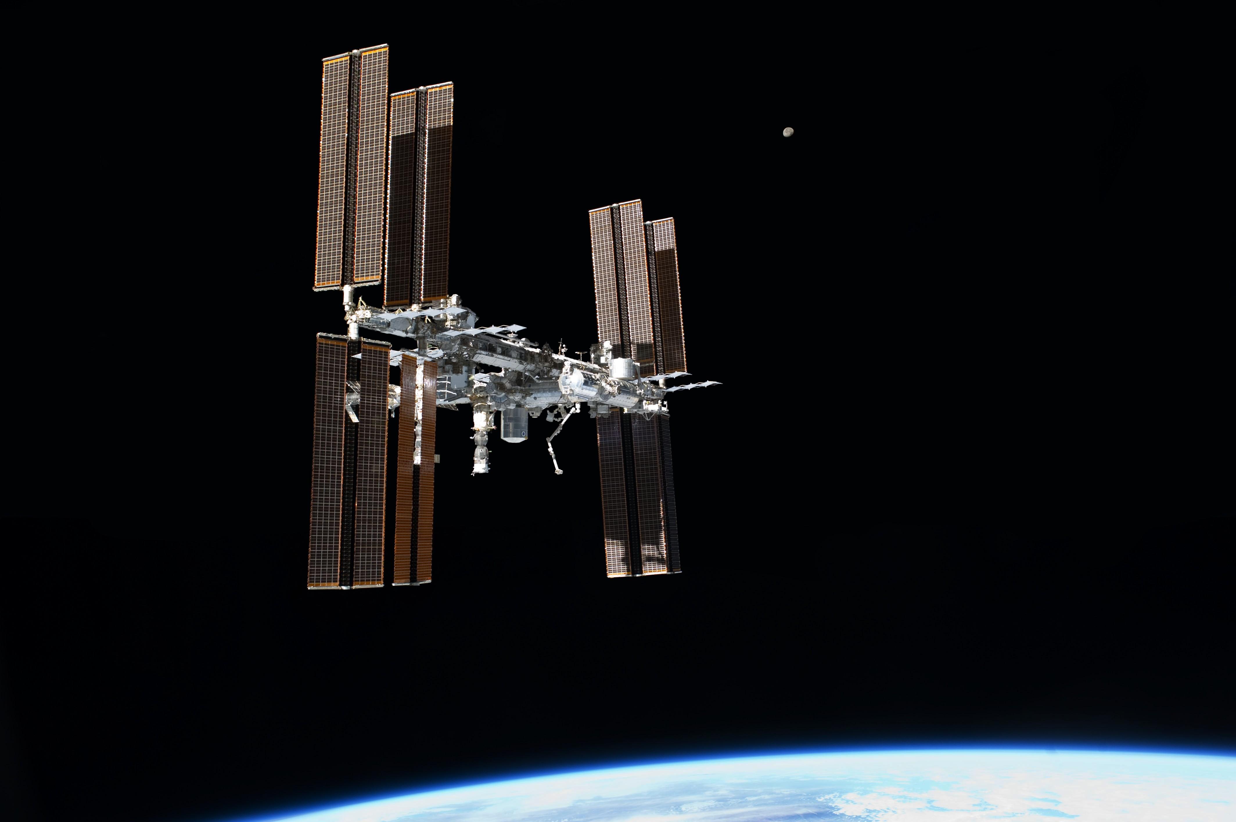 Estação Espacial Internacional (Foto: NASA)