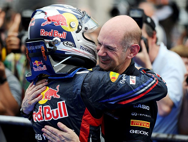 Sebastian Vettel Adrian Newey F1 (Foto: Getty Images)