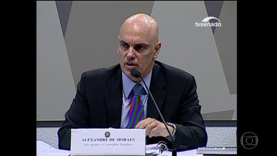 Alexandre de Moraes é aprovado em sabatina na CCJ do Senado para STF