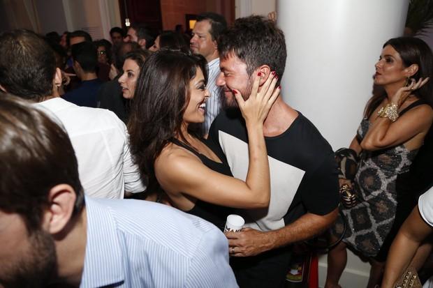 Juliana Paes e Carlos Eduardo Baptista (Foto: Felipe Assumpção e Marcello Sá Barretto / AgNews)