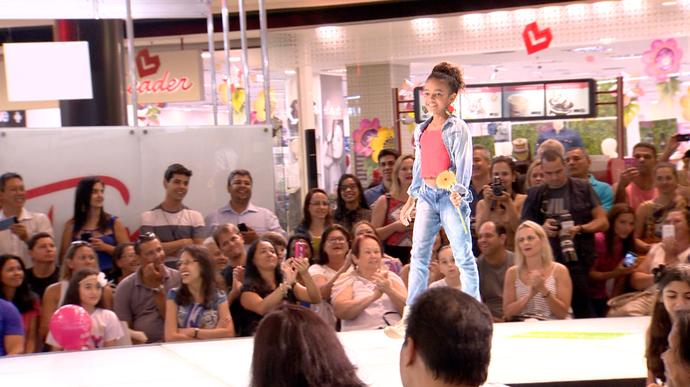 As crianças deram um show na passarela  (Foto: Divulgação / TV Gazeta ES)