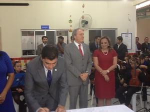 Presidente do STF irá receber o título de cidadão palmense (Foto: Marcos Martins/G1 Tocantins)