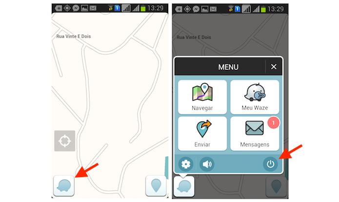 Desativando o Waze no Android (Foto: Reprodução/Marvin Costa)