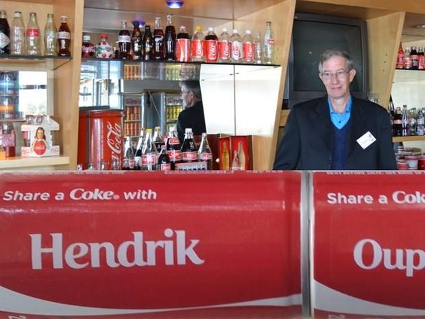 Hendrik Botha, em sua casa (Foto: Hendrik Botha/Reprodução Facebook)