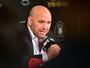 """Dana quer 50% do lucro de luta entre Mayweather e McGregor: """"É justo"""""""