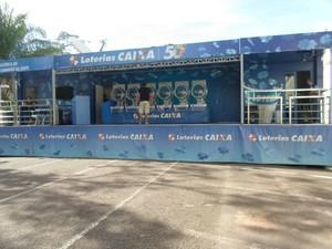 Caminhão da sorte vai estar em Rio Branco até sábado (9) (Foto: (Foto: Tácita Muniz/ G1) )