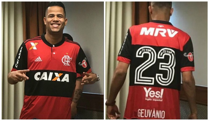 Vazam fotos de Geuvânio com a camisa do Flamengo