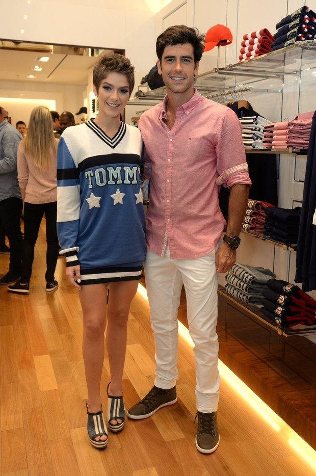 Isabella Santoni e Marcos Pitombo (Foto: Vinicius Marinho/Brazil News)
