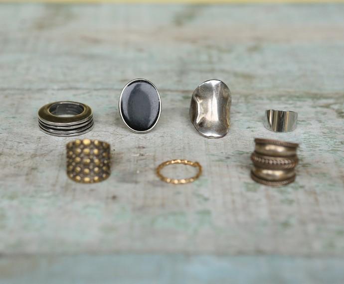 Giovanna gosta de usar anéis impactantes (Foto: Isabella Pinheiro/ Gshow)