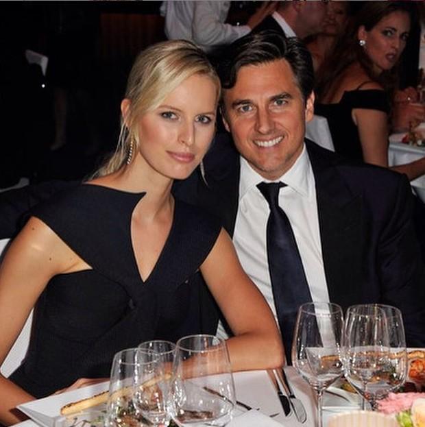 Karolina Kurkova e o marido, Archie Drury (Foto: Reprodução/Instagram)