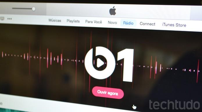 Apple Music, Beats 1 (Foto: Melissa Cruz / TechTudo)